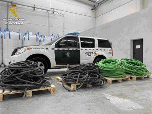 La Guardia Civil detiene a tres personas por un robo en una empresa de Tarancón