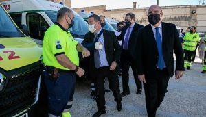 La Junta destaca la excelente labor desarrollada por la plantilla de profesionales de urgencias y emergencias durante la pandemia