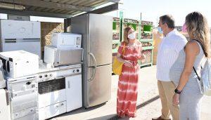 La Junta impulsará los puntos limpios de la región para convertirlos en instalaciones de referencia municipal en los ámbitos ambiental y social