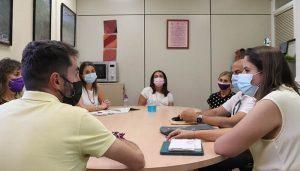 La nueva delegada provincial de Igualdad cursó visita al Centro de la Mujer de Cabanillas