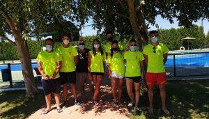 La rápida intervención de los socorristas de la piscina de Quintanar del Rey salva la vida de un niño de 8 años
