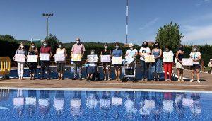 La recaudación de la piscina Luis Ocaña de este lunes se destinará a la iniciativa solidaria 'Mójate por la Esclerosis Múltiple'