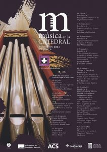 La XI Edición de 'Música en la Catedral' 2021 contará con 10 conciertos y un curso internacional de Órgano Renacentista