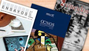 Las revistas de la UCLM Ensayos, Ocnos y Vínculos de Historia, indizadas en la nueva versión del 'Journal Citations Reports'