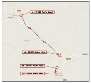 Licitadas las obras de rehabilitación del firme de la carretera N-211 entre Mazarete y Anquela del Ducado