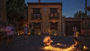 Más de 8.000 velas iluminarán Arbancón en la quinta edición de A la luz de las velas