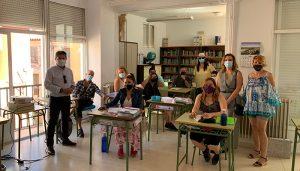 Ocho alumnos trabajadores se forman en Sacedón sobre Atención sociosanitaria a personas dependientes en instituciones sociales