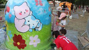 Un taller infantil en Cabanillas da como fruto cuatro nuevas casas para colonias felinas