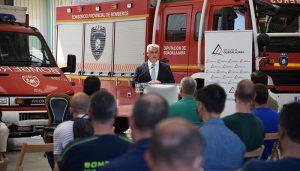 Un total de 81 bomberos de la Diputación de Guadalajara mejoran su escala profesional