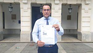 VOX Guadalajara denuncia al gobierno municipal de Rojo y de Ciudadanos ante el Tribunal de Cuentas
