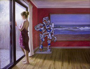 Terán, el artista chileno, vuelve a la Cuenca después de 12 años con su serie más reciente Tributo a los genios