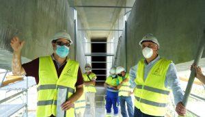 A punto de finalizar los trabajos de adecuación del puente sobre el Río Tajo en la GU-282