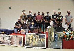Adrián Marmolejo gana el XIII Certamen de Pintura Rápida Nocturna Villa de San Clemente