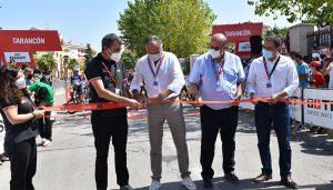 Ayuntamiento de Tarancón, Gobierno regional y Diputación de Cuenca destacan el revulsivo económico que supone la salida de La Vuelta