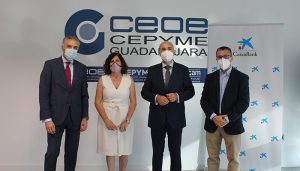 CaixaBank y CEOE-CEPYME Guadalajara renuevan su convenio de colaboración