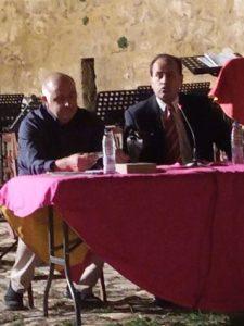 Conferenciante y Rafael Gonzalel Aleman