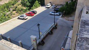 Cuenca en Marcha denuncia la creación de un aparcamiento ilegal en la parcela del Seminario
