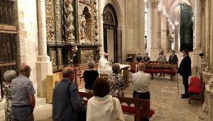 Dolz asiste a la tradicional misa en honor a la Virgen de la Nieves