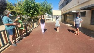 El Gobierno regional acomete obras de adecuación de espacios interiores en el colegio público de Villanueva de la Jara