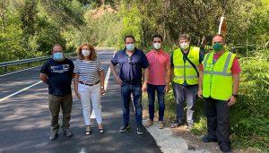 El Gobierno regional acomete obras de arreglo y mejora de la CM-210 a su paso por Puente de Vadillos con un importe de 90.000 euros