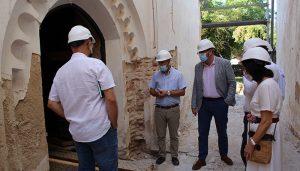 El Gobierno regional colabora en la rehabilitación de la iglesia de San Simón de Brihuega para que pueda ser visitable a partir de la próxima primavera