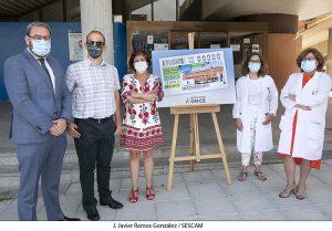El Hospital Universitario de Guadalajara protagoniza el cupón de la ONCE para el sorteo del 12 de agosto dentro de la iniciativa ´Tú eres importante´