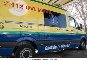 El médico de la UVI-Móvil de Torremocha fue desplazado a la de Guadalajara sólo durante 12 horas, el pasado 10 de julio