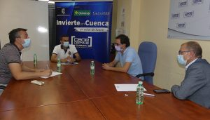 El programa Invierte en Cuenca colaborará con Fran Martínez para la puesta en marcha de su empresa