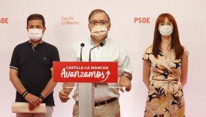 """El PSOE presenta una PNL sobre el trasvase y pide """"unidad"""" al PP de Núñez en defensa de los intereses del agua para CLM """"No queremos evasivas"""""""