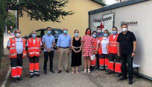 El puesto sanitario de Cruz Roja en el Recinto Ferial de Cuenca contabiliza hasta el momento más de 60 intervenciones