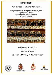 Huete celebrará el jubileo del VIII Centenario de Santo Domingo Programación de actos y actividades