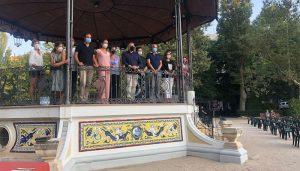 Inaugurado el Mural Cerámico en el Templete del Parque San Julián