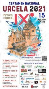 IX Certamen Nacional de Pintura Rápida URCELA de Uclés con un primer premio de 3.500 euros