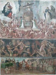"""La Asociación Cultural San Gil de Huete culmina la restauración del cuadro de """"Las Ánimas"""""""