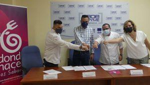 La Asociación de Productores Agroalimentarios y Euro-Toques firman un convenio para promocionar los productos de Cuenca