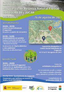 La CHJ organiza una ruta guiada y taller de ecología fluvial en la Cabecera del río Júcar