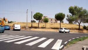 La Diputación de Guadalajara arregla la carretera GU-206 que comunica Loranca con Pioz