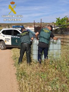 La Guardia Civil desarticula un grupo criminal que robó en 108 explotaciones agrícolas de las provincias de Cuenca y Ciudad Real