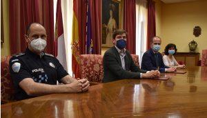 La Policía Local de Guadalajara dispondrá de más tests antidrogas gracias al convenio suscrito entre el Ayuntamiento y la Dirección General de Tráfico