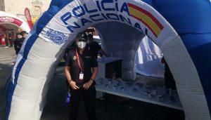La Policía Nacional estará presente en la 4ª etapa de La Vuelta que finalizará en la localidad de Molina de Aragón