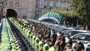 La Unidad de Movilidad y Seguridad Vial de la Guardia Civil en la Vuelta ciclista a España 2021 recorre las carreteras de la provincia de Guadalajara
