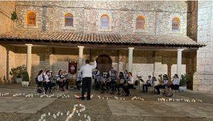 Primer concierto de la Banda de Música de Fuentenovilla desde que comenzó la pandemia