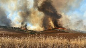 Tarde de incendios en Cuenca detectados dos fuegos más en Huerta del Marquesado y Barajas de Melo