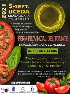 """Uceda acogerá el domingo 5 de septiembre la Primera Feria Provincial del Tomate """"con sabor a tomate"""""""
