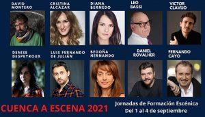 Última semana para matricularse en las IV Jornadas Cuenca a Escena, una de las mayores citas de la formación teatral en España