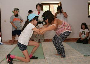 Un total de 13 chavales con y sin discapacidad conviven en el campamento inclusivo de la ONCE en Cuenca