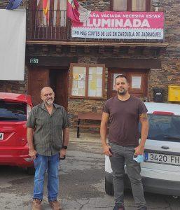 Vecinos de la Sierra Norte expresan sus quejas al diputado de Unidas Podemos, Daniel Touset