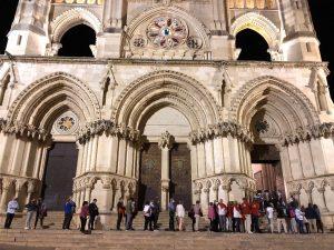 Rotundo éxito de la mágica Noche del Patrimonio en Cuenca