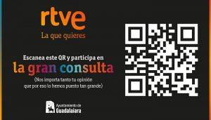 El Ayuntamiento de Guadalajara colabora con 'La gran consulta' ciudadana sobre el modelo de RTVE