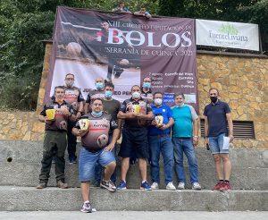 Buenache de la Sierra vuelve a ganar y se sitúa como amplio dominador del XIII Circuito Diputación de Bolos